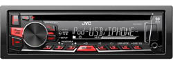 CD Receivers  jvc kd r660